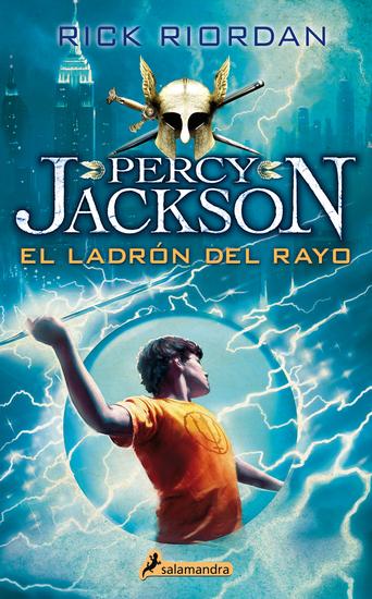 El ladrón del rayo - Percy Jackson y los dioses del Olimpo I - cover