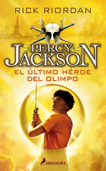 El último héroe del Olimpo - Percy Jackson y los dioses del Olimpo V - cover