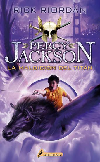 La maldición del titán - Percy Jackson y los dioses del Olimpo III - cover