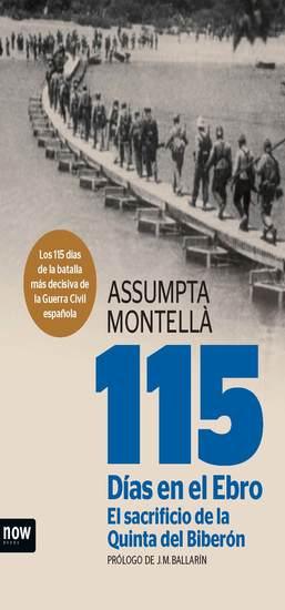 115 días en el Ebro El sacrificio de la Quinta del Biberón - cover