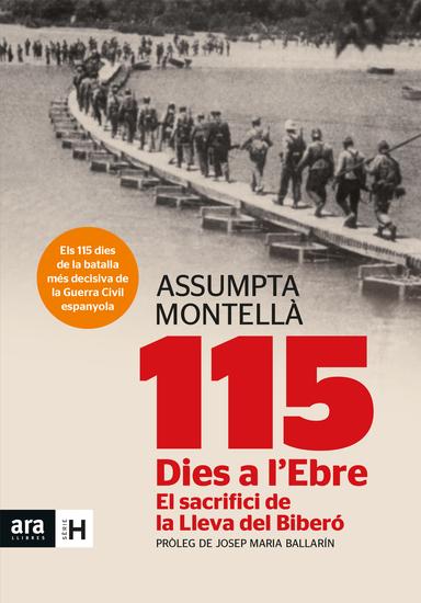 115 dies a l'Ebre - El sacrifici de la Lleva del Biberó - cover