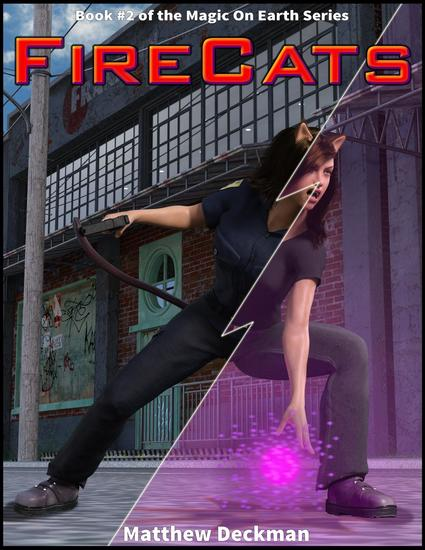 FireCats - Magic On Earth - If Magic Did Exist #2 - cover