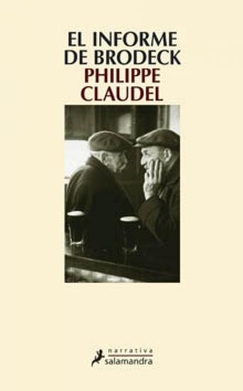 El informe Brodeck - cover