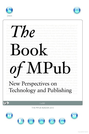 The Book of MPub: New Perspectives on Technology and Publishing - cover