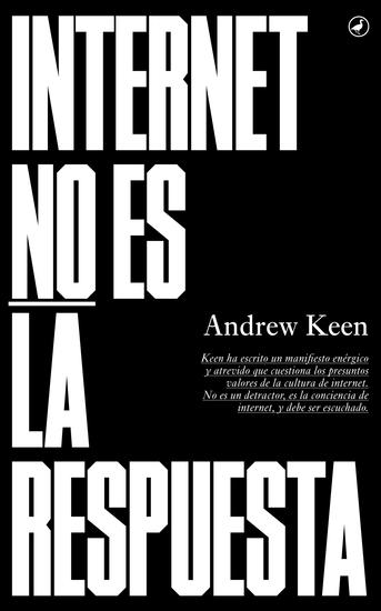 Internet no es la respuesta - cover