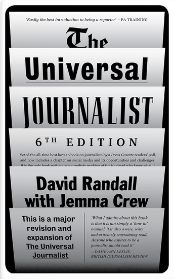 The Universal Journalist - Fifth Edition - cover