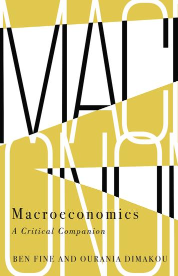 Macroeconomics - A Critical Companion - cover