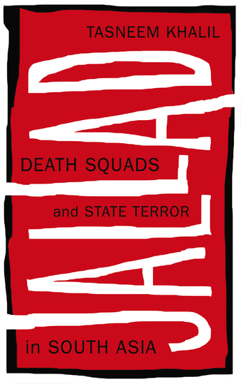 Jallad - Death Squads and State Terror in South Asia - cover