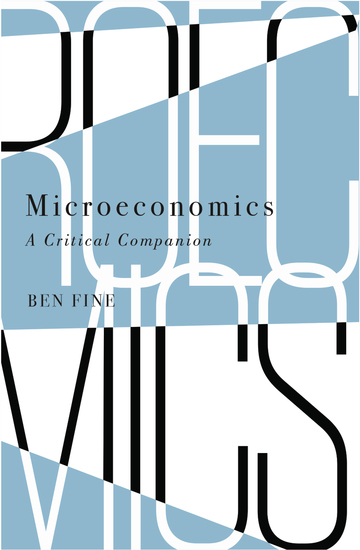 Microeconomics - A Critical Companion - cover