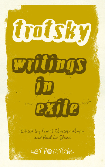 Leon Trotsky - Writings in Exile - cover