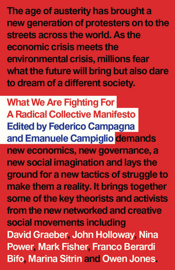 What We Are Fighting For - A Radical Collective Manifesto - cover