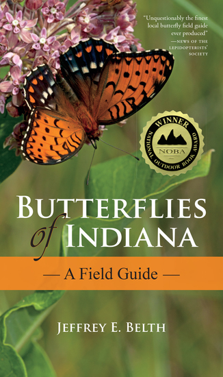 Butterflies of Indiana - A Field Guide - cover