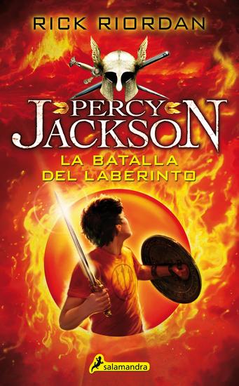 La batalla del laberinto - Percy Jackson y los dioses del Olimpo IV - cover