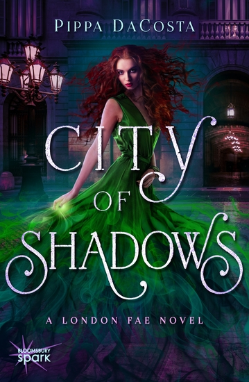 City of Shadows - A London Fae Novel - cover
