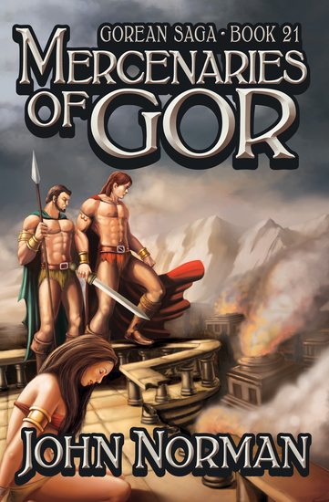 Mercenaries of Gor - cover