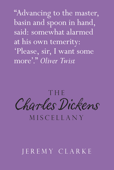 The Charles Dickens Miscellany - cover