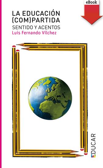 La educación (com)partida - cover