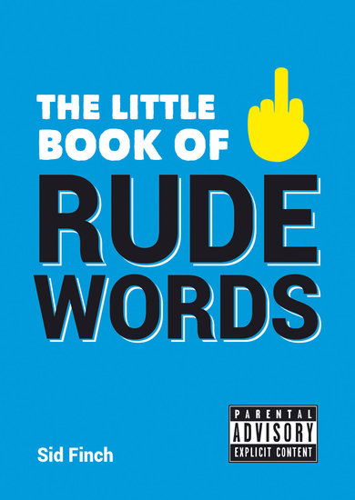 The Little Book of Rude Words - cover