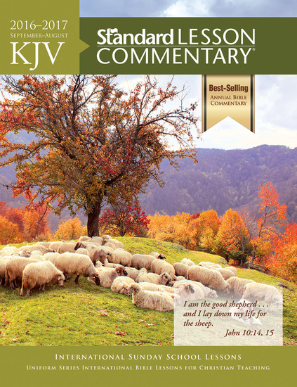 KJV Standard Lesson Commentary® 2016-2017 - cover