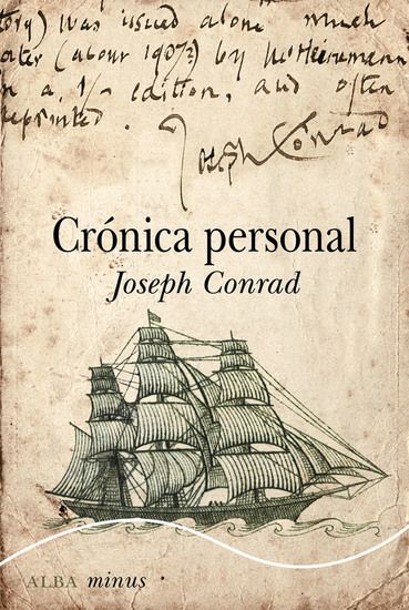 Crónica personal - cover