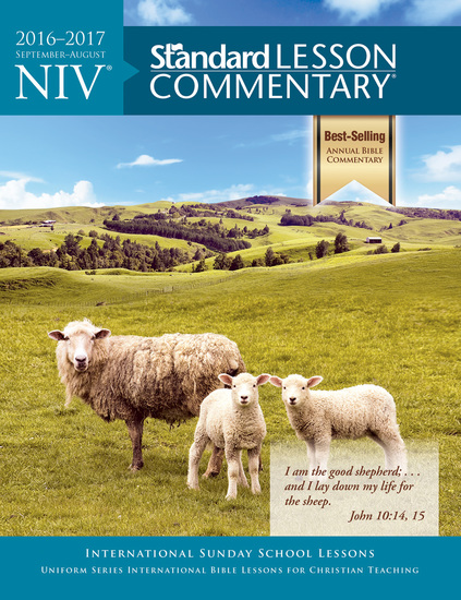 NIV® Standard Lesson Commentary® 2016-2017 - cover