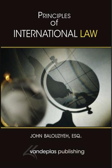 Principles of International Law - cover