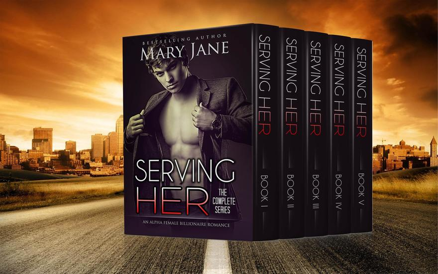 Serving Her (The Complete Series Box Set 1-5 Club Prive) (An Alpha Billionaire Romance) - cover