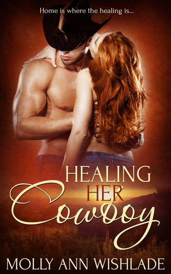 Healing Her Cowboy - cover