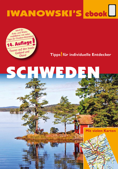 Schweden - Reiseführer von Iwanowski - Individualreiseführer mit vielen Detailkarten und Karten-Download - cover