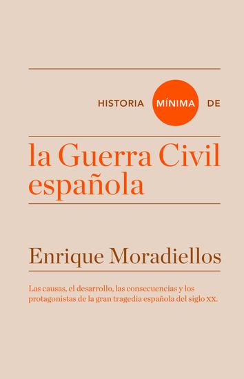 Historia mínima de la Guerra Civil española - cover