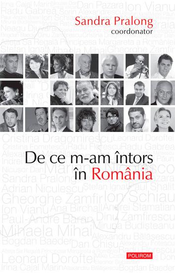 De ce m-am întors în România - cover
