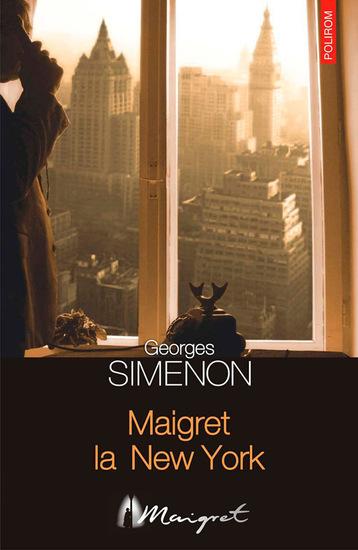 Maigret la New York - cover