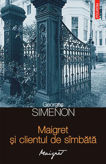Maigret și clientul de sîmbătă - cover