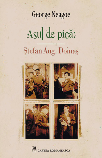 Asul de pică: Ștefan Aug Doinaș - cover