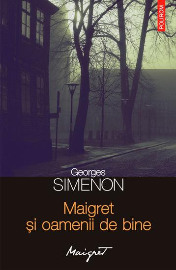 Maigret și oamenii de bine - cover