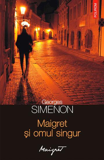 Maigret și omul singur - cover