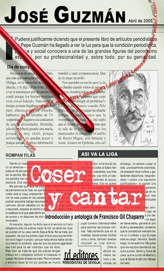Coser y cantar - cover
