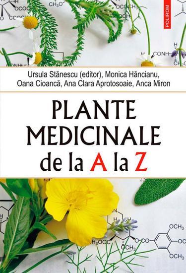 Plante medicinale de la A la Z - cover