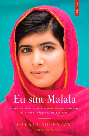 Eu sînt Malala - cover