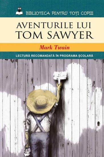 Aventurile lui Tom Sawyer - cover