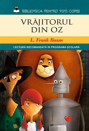 Vrăjitorul din Oz - cover