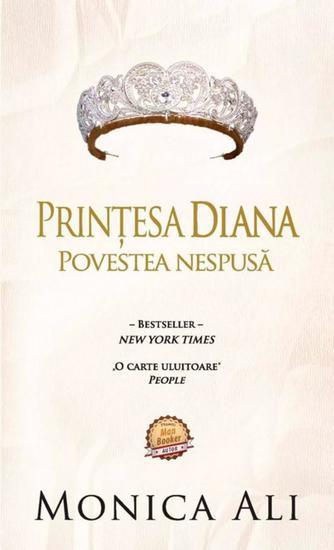 Prințesa Diana Povestea nespusă - cover