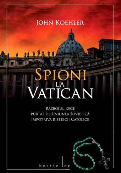 Spioni la Vatican - cover