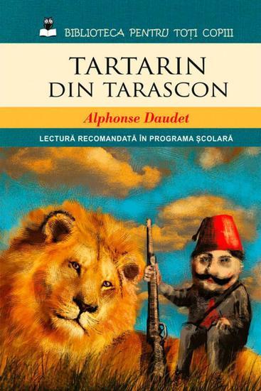 Tartarin din Tarascon - cover