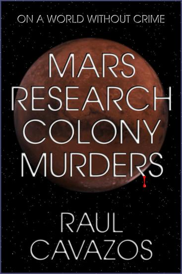 Mars research colony murders - cover