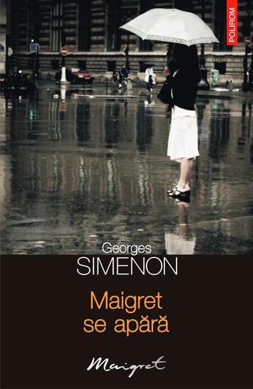 Maigret se apără - cover