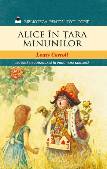 Alice în Țara Minunilor - cover