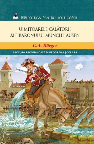 Uimitoarele călătorii ale baronului Münchhausen - cover