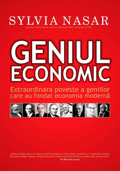 Geniul economic Extraordinara poveste a geniilor care au fondat economia modernă - cover