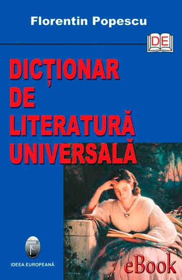 Dicționar de literatură universală - cover